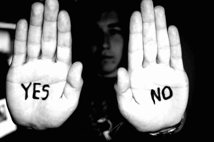 Cuando «NO» significa «SI»