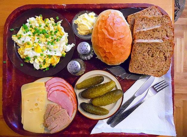 Los desayunos en Polonia