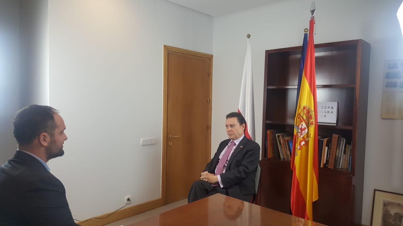 Mi entrevista al embajador de España en Polonia